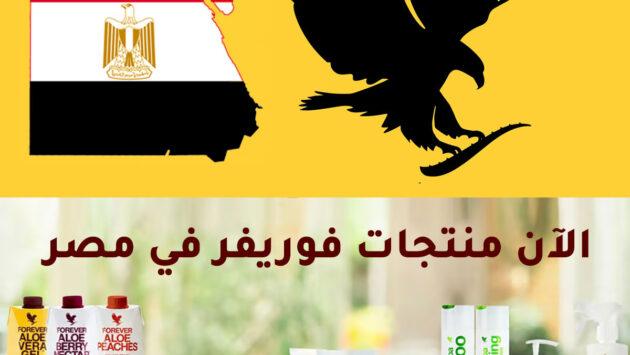 منتجات شركة فوريفر في مصر