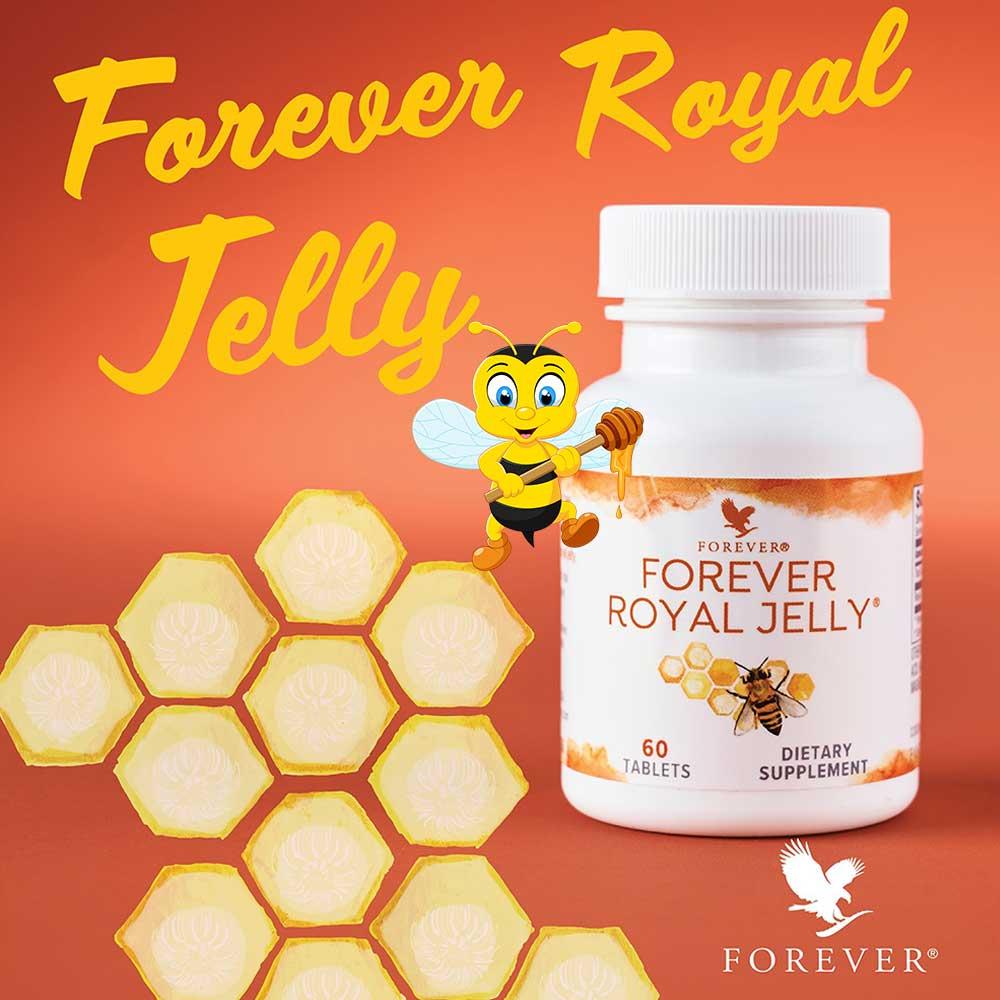 أفضل منتجات النحل غذاء ملكات النحل فوريفر رويال جيلي